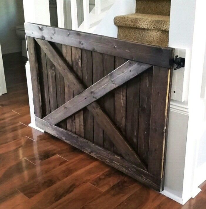 Tired Of Ugly Plastic Baby Gates That Always Seem To Break