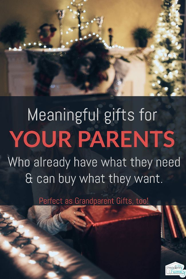 Meaningful Ideas For Your Parents The Kids Grandparents Christmas Gifts For Parents Diy Gifts For Mom Christmas Presents For Parents