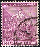 Cape of Good Hope 1893 SG 64 Hope Seated Fine Used SG 64 Scott 46 Other British Commonwealth Empire and Colonial stamps Here