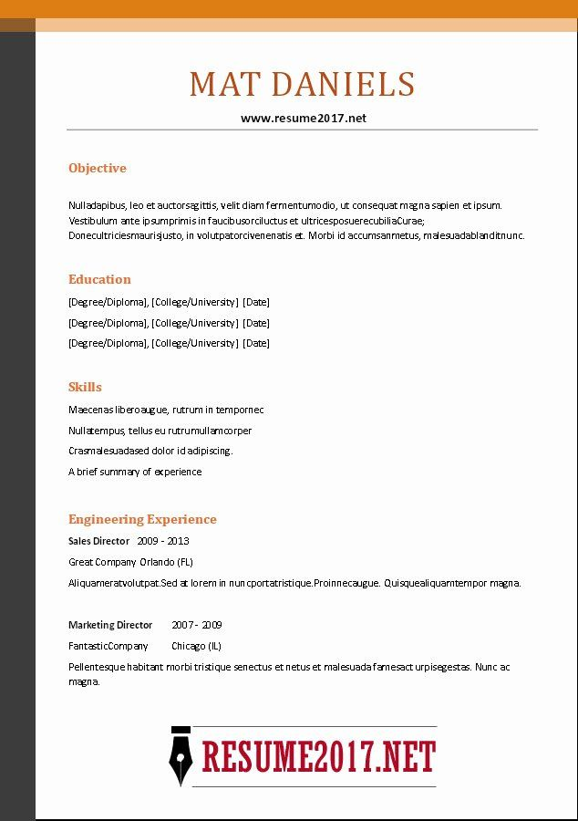 Combination Resume Template Word New Bination Resume Format 2017 Functional Resume Template Resume Template Word Resume Template Free