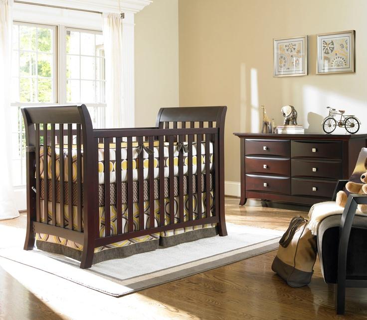 Metro Classic Crib In Classic Cherry By Bonavita