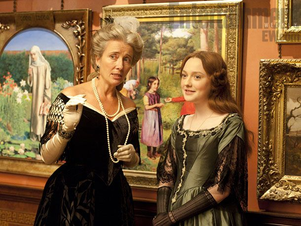 Emma Thompson and Dakota Fanning in 'Effie'