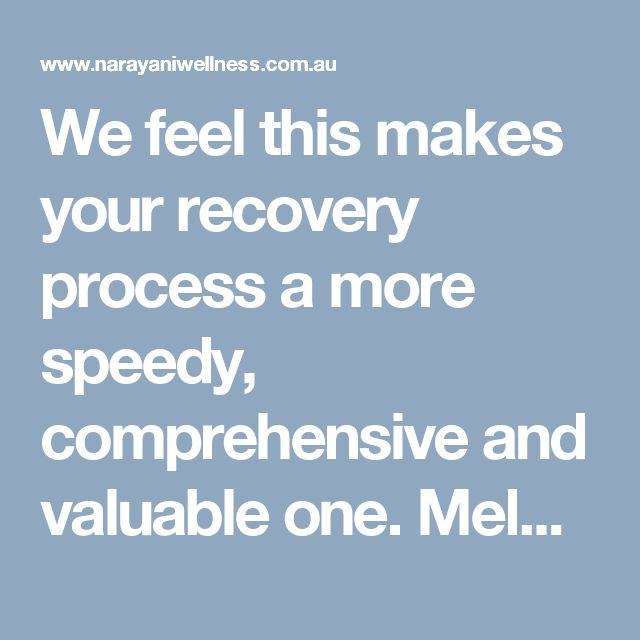 We feel this makes your recovery process a more speedy, comprehensive and valuable one. Melbourne Naturopath utilizing herbal and nutritional medicine, with expertise in autoimmune diseases.  Visit here: http://www.narayaniwellness.com.au/shared-care-model/