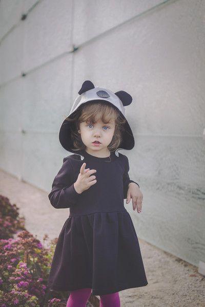 SUKIENKA PANDA - DIAMENTOWEbySysia - Ekologiczne ubranka dla dzieci