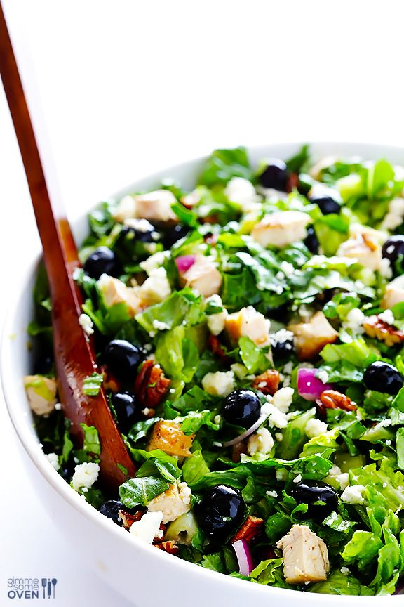 Berry And Bacon Kale Salad With Blackberry Jam Vinaigrette Recipe ...