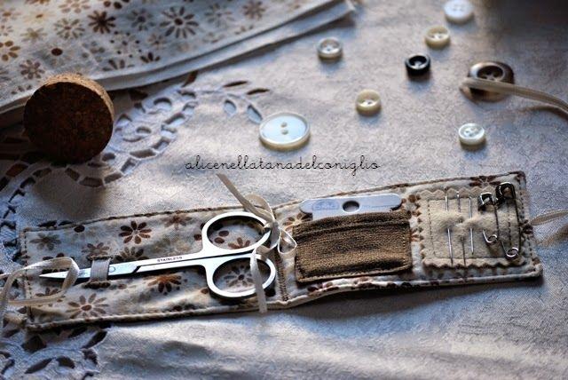 la Tana del Coniglio: DIY kit da cucito - sewing kit