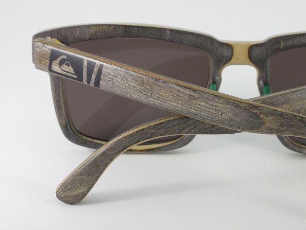 c386d0fab Quiksilver lança óculos ecológicos feitos com shape de skate | madera y  deriva in 2019 | Óculos, Óculos masculino, Skate