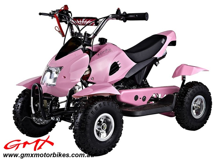 Gmx 49cc Mini Atv Quad Bikes Pink Shut Up Ride Pinterest