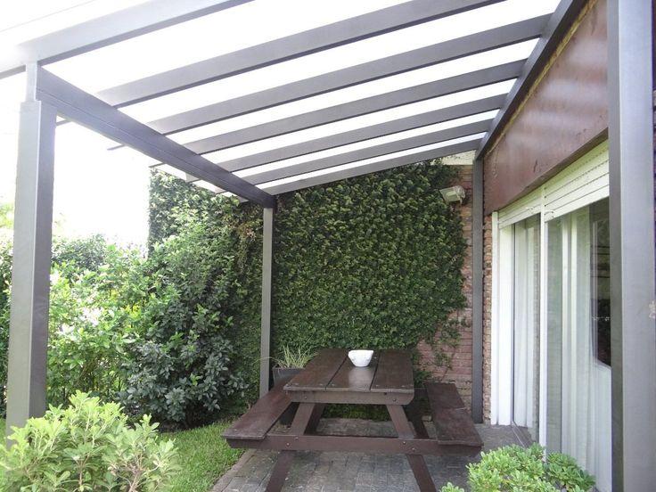 Policarbonato techos decks pergolas cerc portones 12747 for Pergola policarbonato