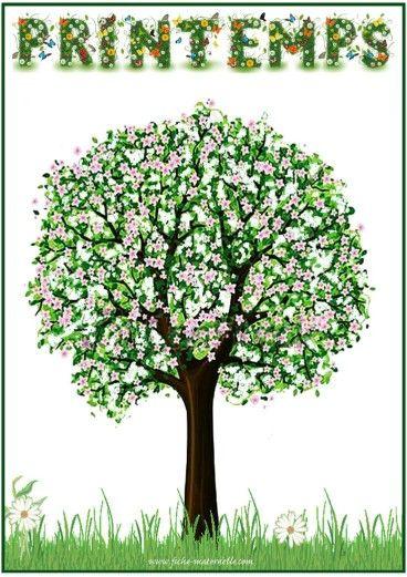 ❤J'adore le printemps, le soleil brille déjà fort. Je joue au foot dans le jardin avec les copains du quartier. Mes parents preparent le premier barbecue et nous mangeons sous l'arbre aux fleurs roses. Ma soeur et moi chercheons des figures dans les nuages blancs dans le ciel bleu.