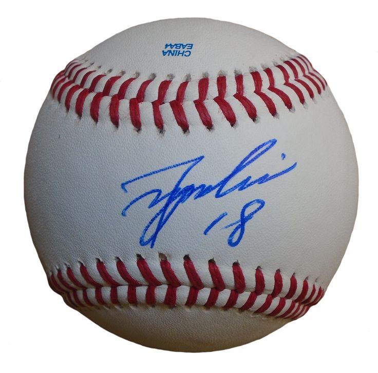 Tsuyoshi Wada Autographed Rawlings ROLB Leather Baseball, Proof Photo