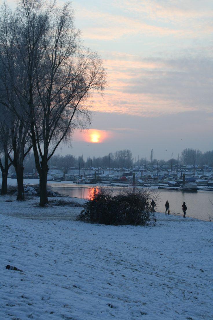 winter in #Giesbeek (gemeente #Zevenaar).