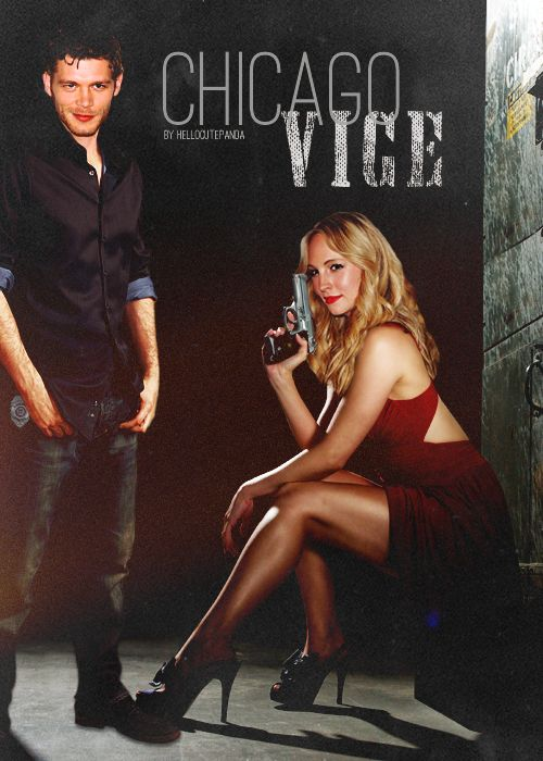 Caroline and Klaus as two Chicago police officers in the vice department who go head to head and hijinks ensue.  Read our review here: http://www.klarolinemagazine.com/review-chicago-vice-by-hellocutepanda/