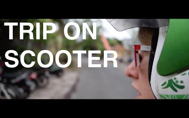 FILM#6 TRIP ON SCOOTER   VÝLET NA SKŮTRU