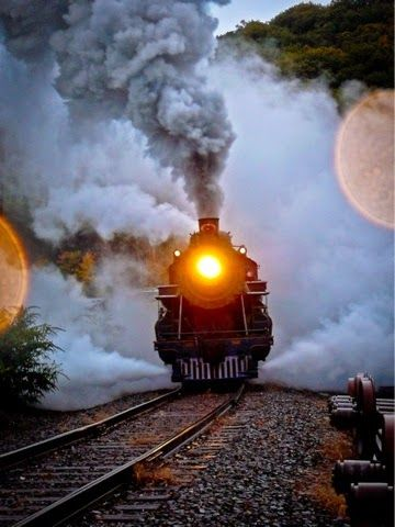 Photo writing prompt....what fantastic adventure is this train and it's passengers about to go on?