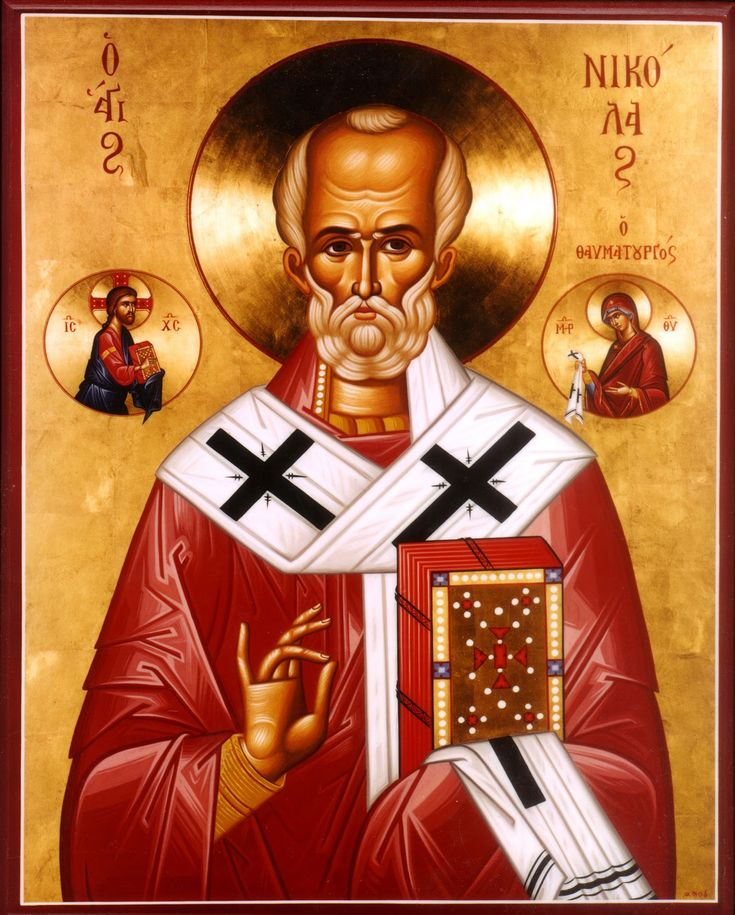Happy Feast Day of St Nicholas of Myra- Santa Claus., Sinterklaas – December 6 #pinterest Nicholas is the great patron of children and of Christmas giving. He lived in the fourth century. Santa Claus is a short form of St. Nicholas. This famous saint was born in Asia Minor, which is modern-day Turkey. After his parents died, he gave all his money to charity. Once ............| Awestruck Catholic Social Network