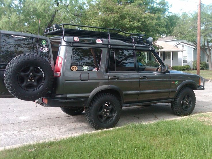 Image result for land rover discovery 2 off road