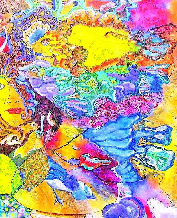 Painting by Tatyana Murova/ www.artterra.com ,,Fantasie'' SOLD