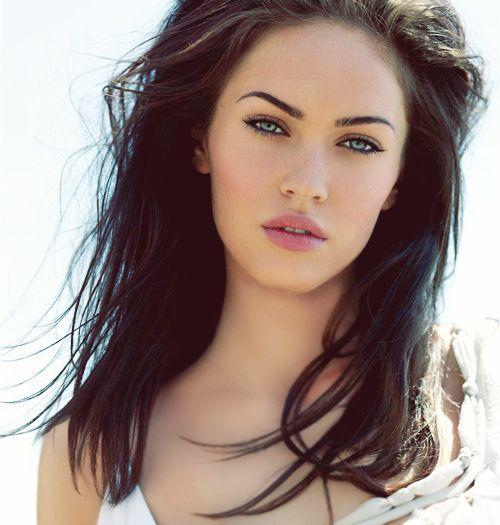 .: Megan Fox, Meganfox, Makeup, Beauty, Beautiful People, Foxes, Hair, Eye