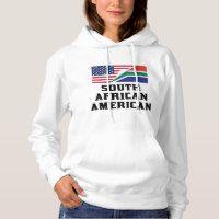 South African American Flag Hoodie