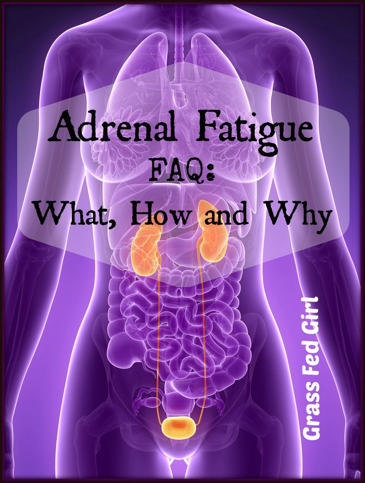 Adrenal Fatigue: What, How and Why   grassfedgirl.com