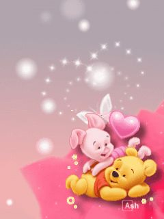 animated gif pooh | Animaciones - Descargar Baby pooh and piglet para celular ...