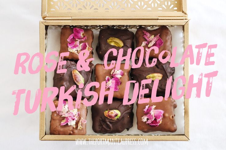 Recipe for making a delicious rose and pistachio turkish delight (lokum) the traditional way.