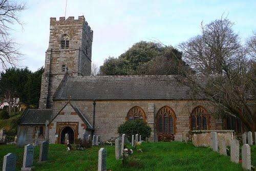 St Gluvias Church, Penryn, Cornwall