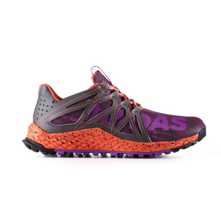 Adidas Vigor Bounce Women's Trail Running Shoes, Size: 7, Brt Purple