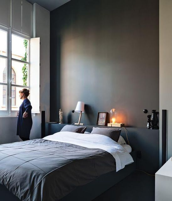 Grey for the bedroom
