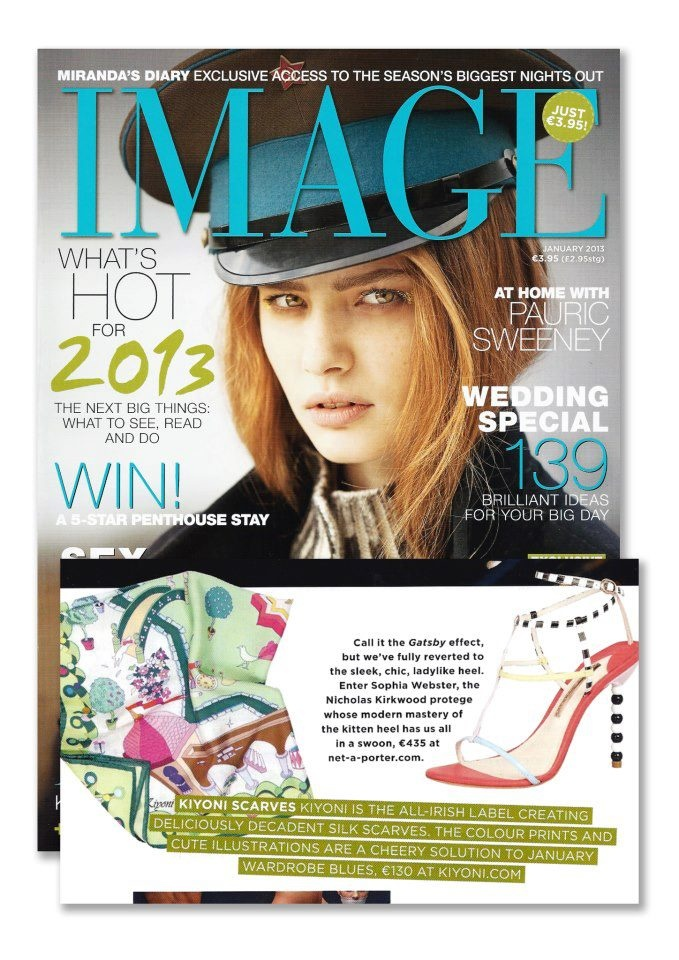Dream Garden featured in Image Magazine January 2013!