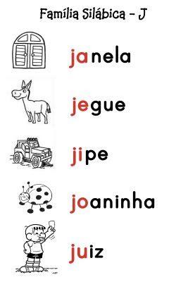 O Mundo da Alfabetização: Silabário - J e L                                                                                                                                                     Mais