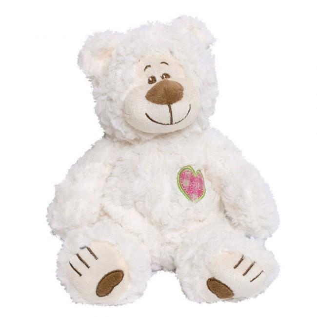 Schattige kleine teddy beer met een klein geborduurd hartje op de borst. Astor de beer is gemaakt van een zeer zachte, harige pluche. Bruine inzetstukken accentueren zijn natuurlijke charme. Deze grote knuffel is een geschikt cadeau voor elke gelegenheid.