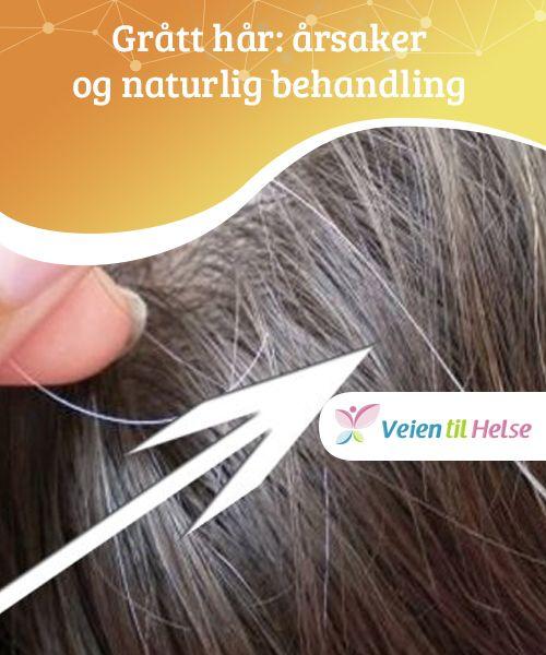 Grått hår: årsaker og naturlig behandling  Det er mange #ulike faktorer som #påvirker at håret gråner. Alt fra #stress til genetiske faktorer til #emosjonelle problemer.