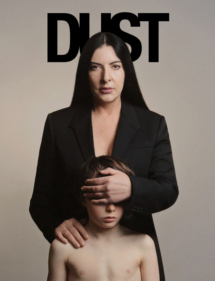 Marina Abramovic covers Dust Magazine Spring/Summer 2013