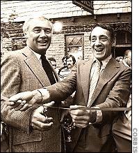 Mayor George Moscone and Supervisor Harvey Milk of SFO.