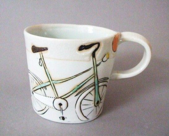 Bicycle mug.