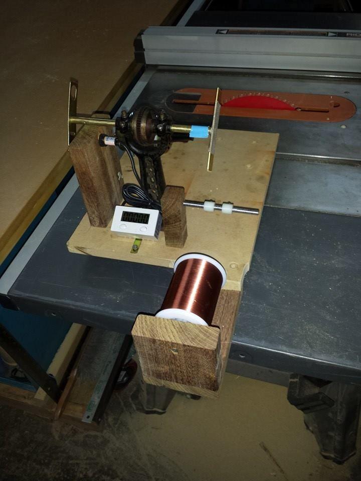 custom guitar pickup winder diy technology pinterest. Black Bedroom Furniture Sets. Home Design Ideas