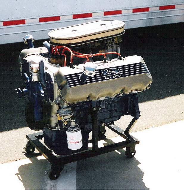 427 SOHC Ford. Banned by Nascar, feared by NHRA and IHRA Mopar and GM racers everywhere.