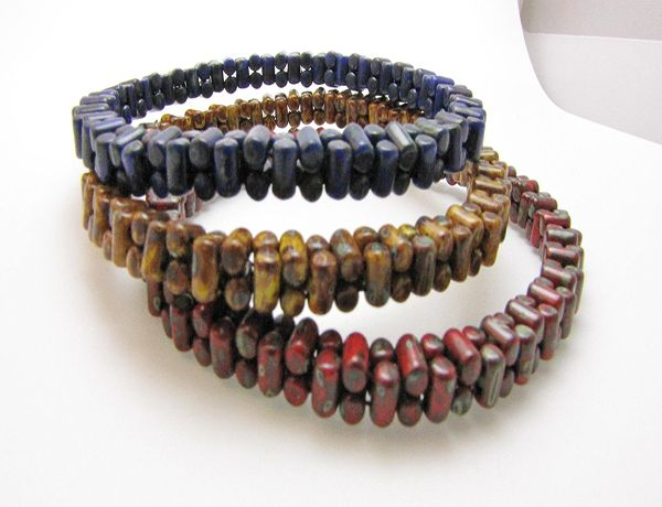 Rulla-Round-Bracelets- Free Pattern from The Beading Room- Your Canadian Online Bead Store