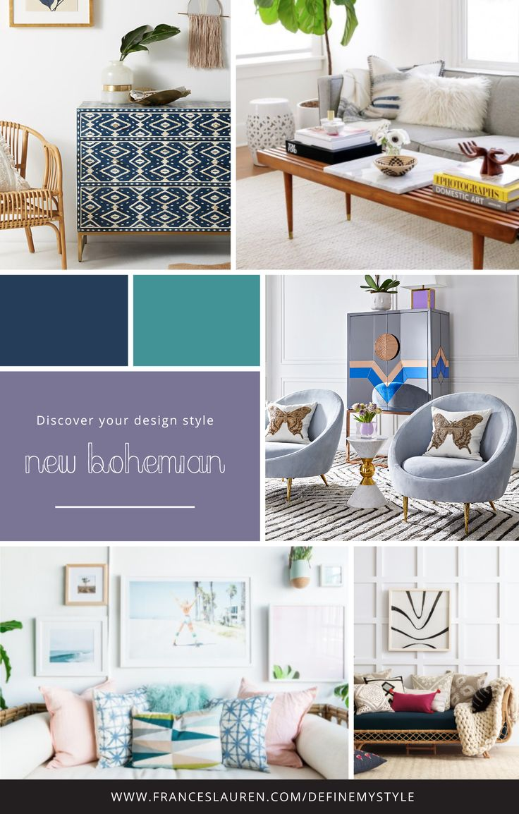 New Bohemian style Interior Design Take our