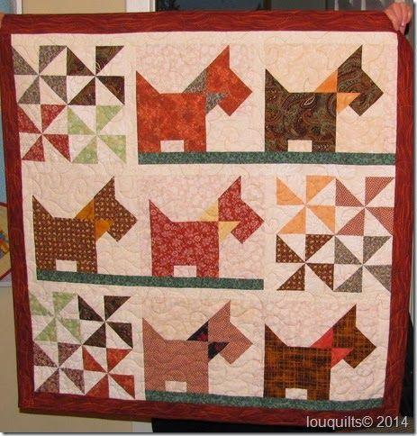 Scottie Dogs quilt