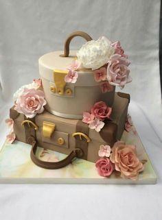 Travel suitcase cake                                                                                                                                                      More