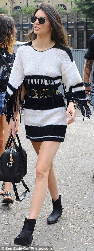 Quick trip: Then it was a quick trip to London where she watched Taylor Swift perform at B...