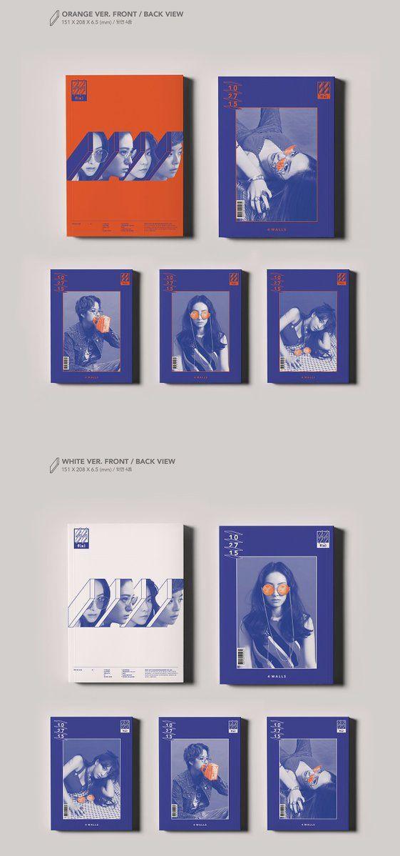 f(x) 4 Walls album packaging