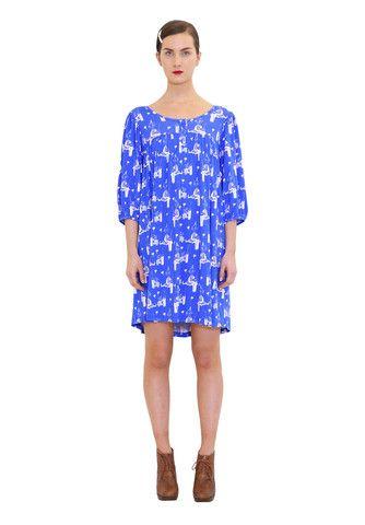 Ninni dress. Shop: http://shop.ivanahelsinki.com/collections/moomin-by-ivana-helsinki/products/ninni