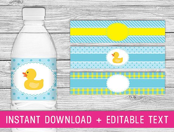 The  Best Printable Water Bottle Labels Ideas On