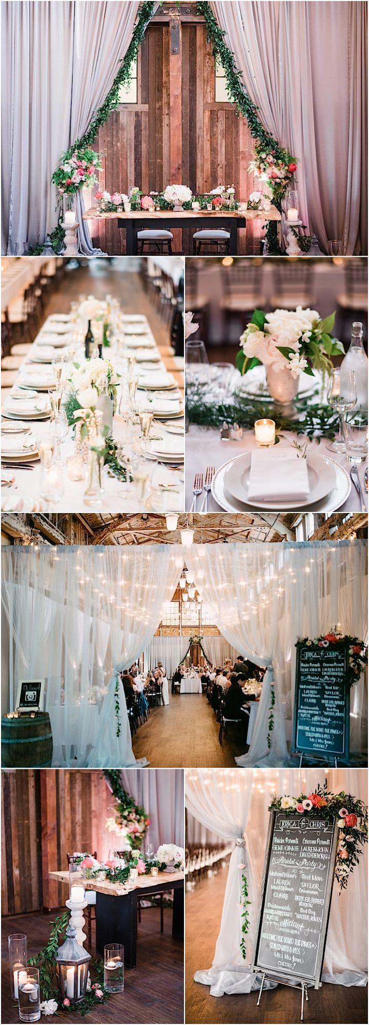 Featured Photographer: Ryan Flynn Photography; rustic chic wedding reception
