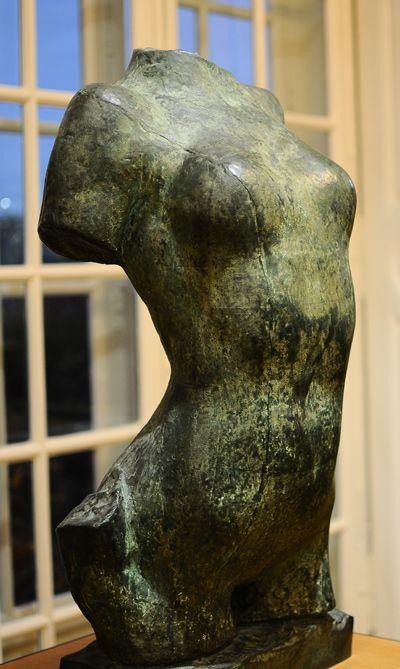 Torse de jeune fille. Auguste Rodin.                              …                                                                                                                                                                                 Plus