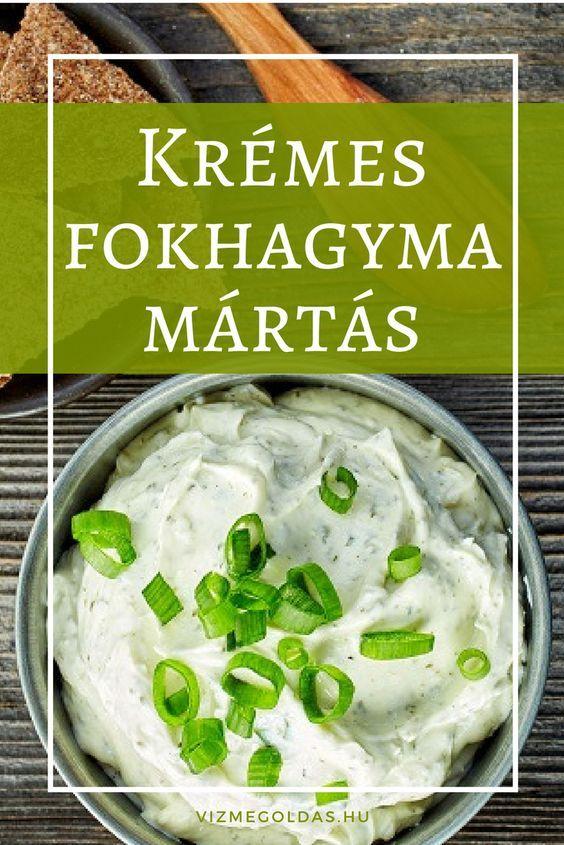 Egészséges receptek - fokhagyma mártás